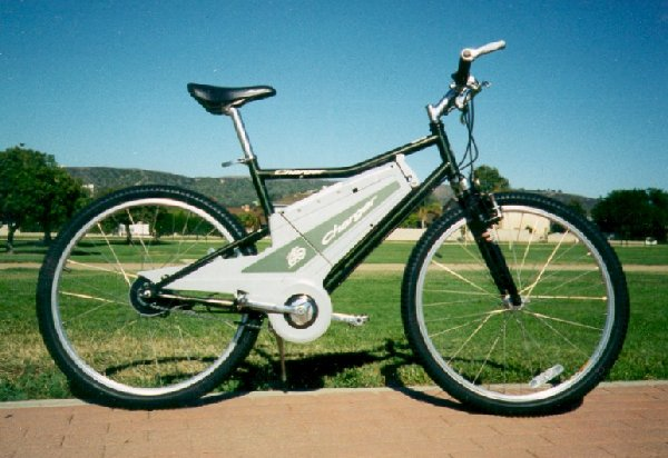 Charger electric bike meets mercedes benz electric bike for Mercedes benz bicycles