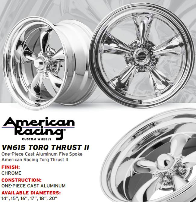 American Racing Torq Thrust Wheels