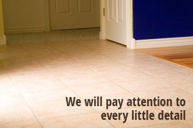 We will pay attention to every small detail.