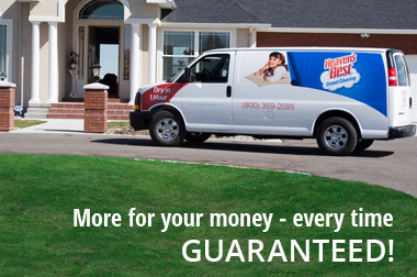 More for your money - every time. GUARANTEED!