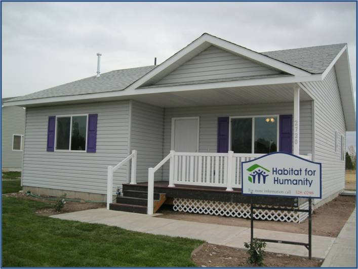 Habitat for humanity idaho falls area affiliate ways to give for Building a house in idaho